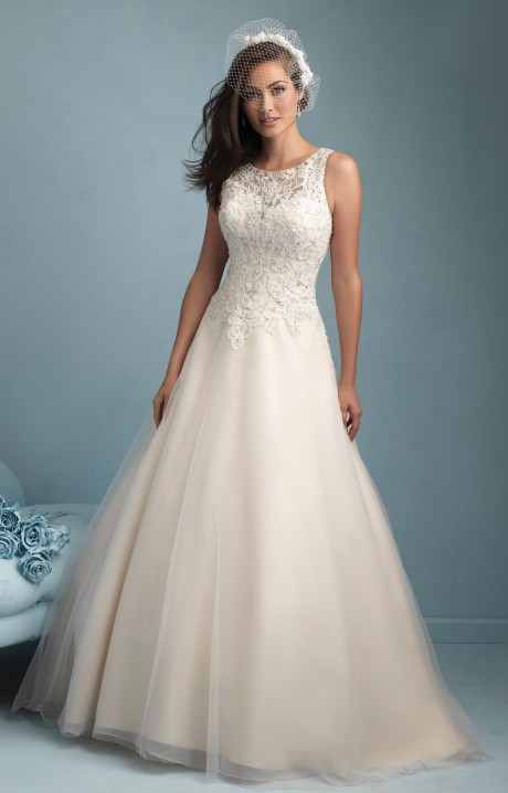 Allure Bridals W343 Wedding Dress