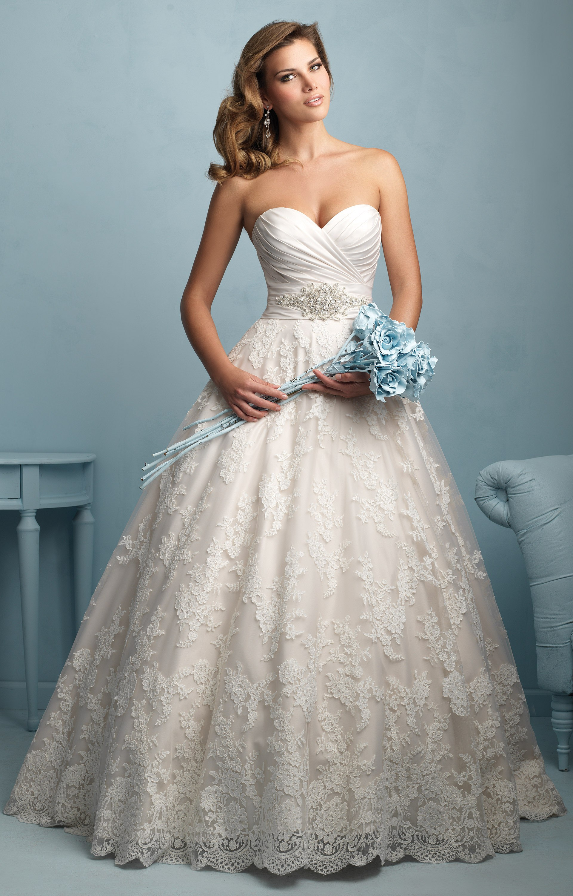 Allure bridals 9202 wedding dress for Wedding dresses anderson sc