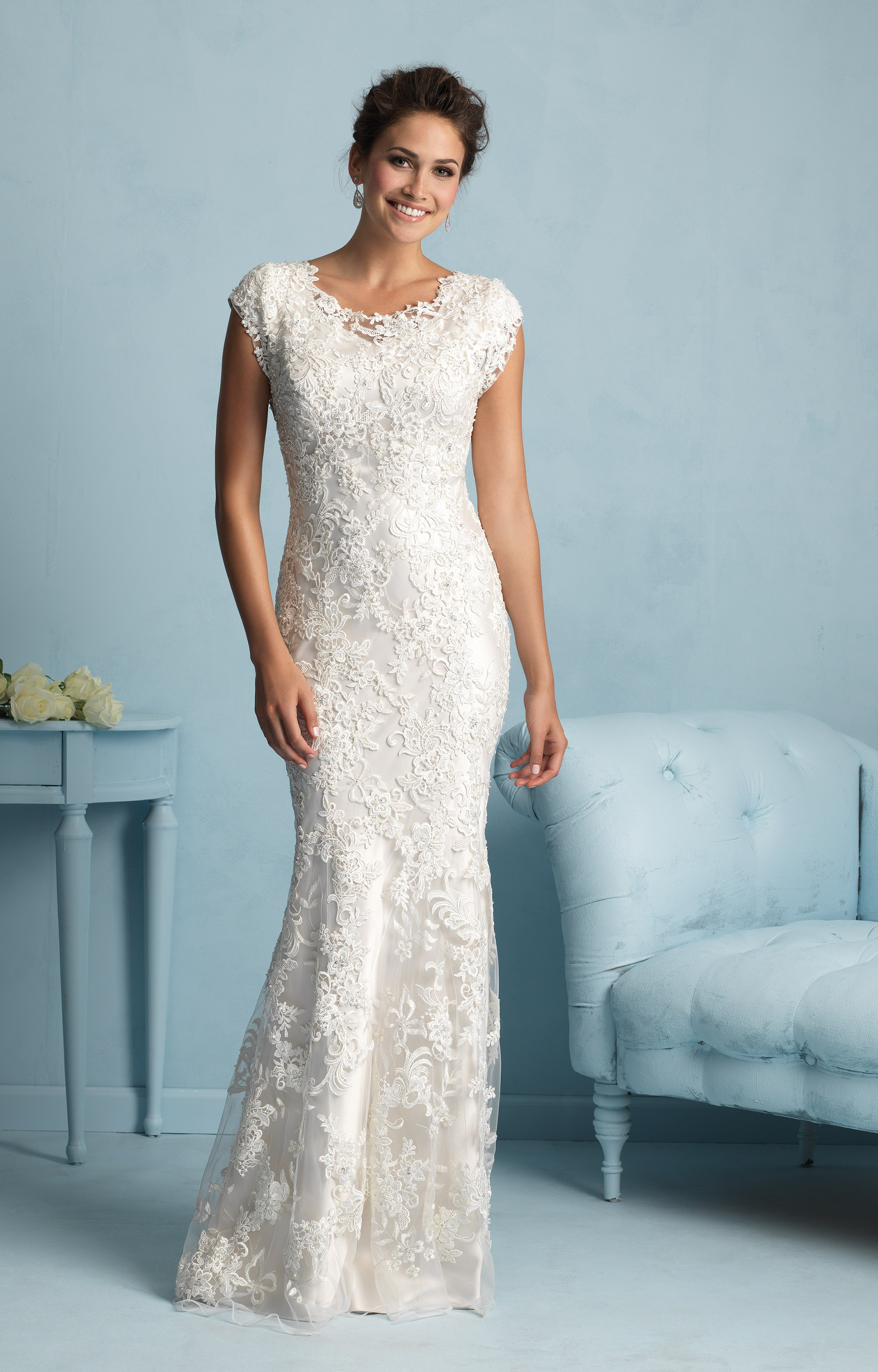 Allure Bridals M536 Wedding Dress