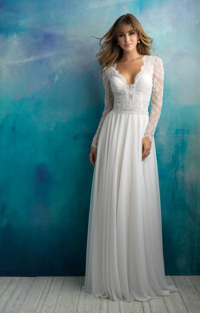 Long Sleeve Wedding Dresses - Formal, Prom, Wedding Long Sleeve ...