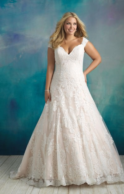Lace Wedding Dresses | With Sleeves, Long, Short, Simple
