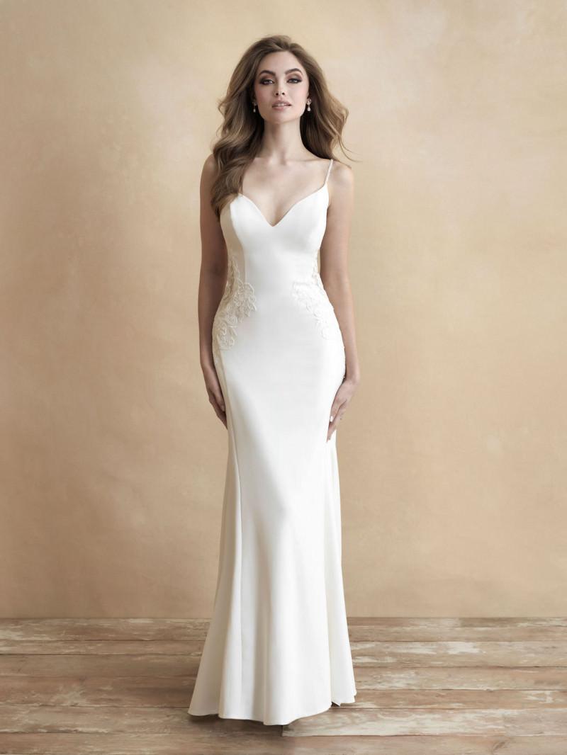 Allure Bridals 9257 English Net Sweetheart Neckline