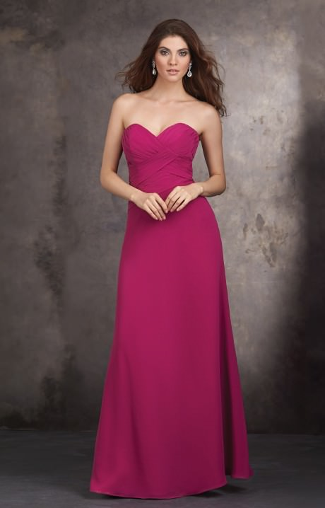 Allure Bridesmaids 1429 - Strapless and sweetheart