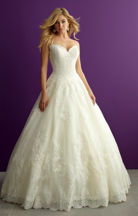 4788058630 Allure Bridals 2959 Wedding Dress - Part of the Allure Romance Collection