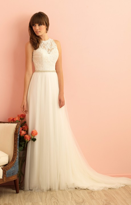 Allure bridals 2863 wedding dress part of the allure for Wedding dresses anderson sc