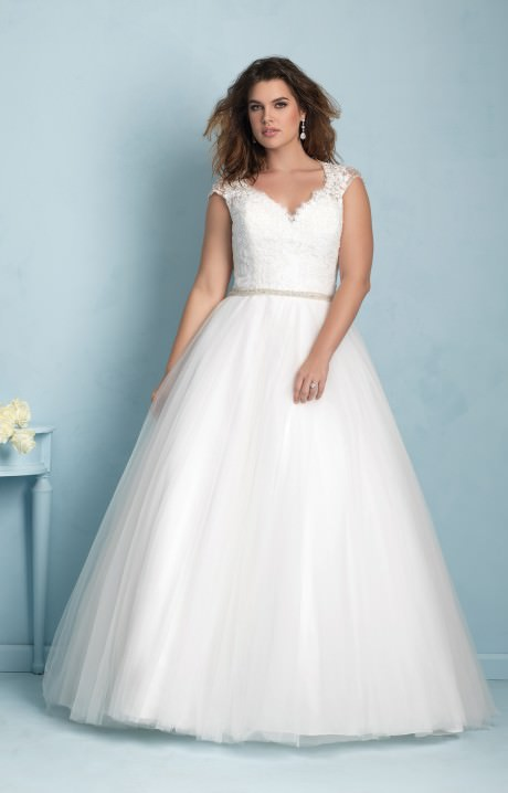 e6ec74e040a Allure Bridals W350 Wedding Dress - Part of the Allure Women s Collection