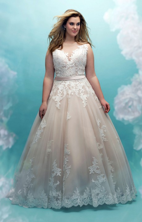 Allure Bridals W405 Wedding Dress Part Of The Allure Womens