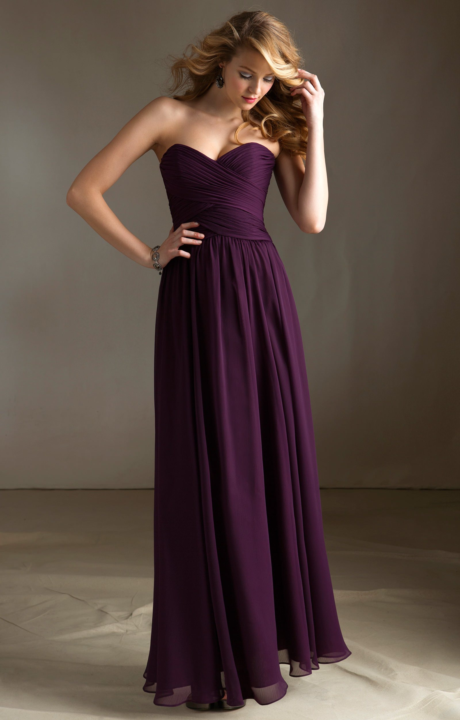 Angelina Faccenda 2015 Bridesmaid Dress