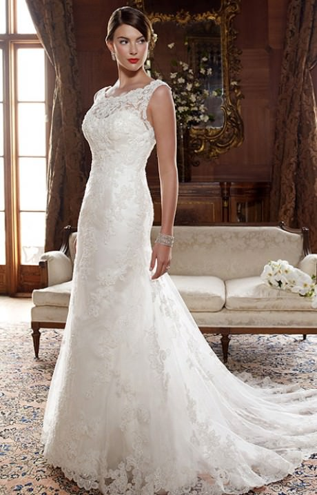 Casablanca 2004 wedding dress for Casablanca lace wedding dress