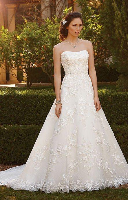 Casablanca 2051 wedding dress for Casablanca lace wedding dress