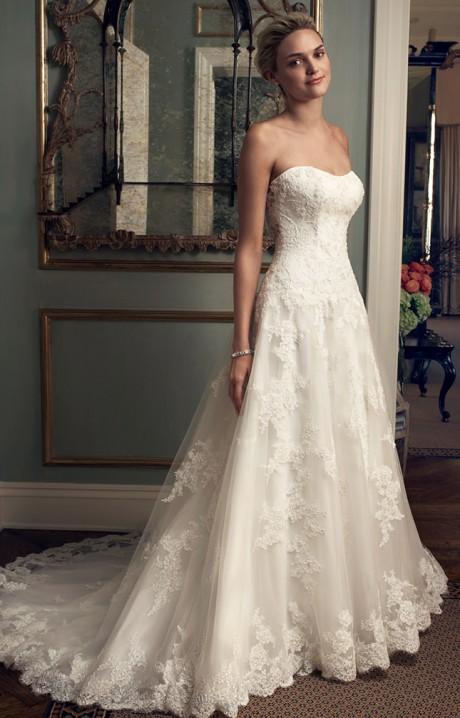 Casablanca bridal wedding dresses gowns lace halter 2222 casablanca junglespirit Images