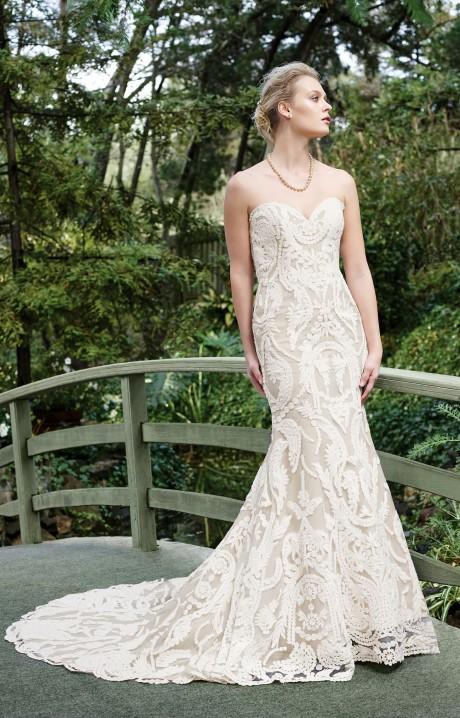 Casablanca bridal wedding dresses gowns lace halter 2265 casablanca junglespirit Images