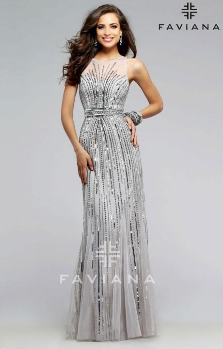 Faviana S7596 Formal Dress Gown
