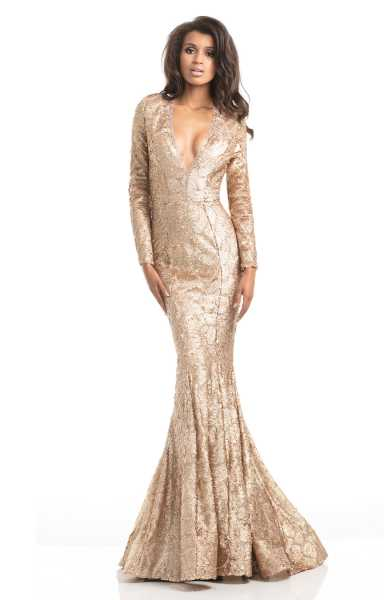 Johnathan Kayne 7025 Formal Dress Gown