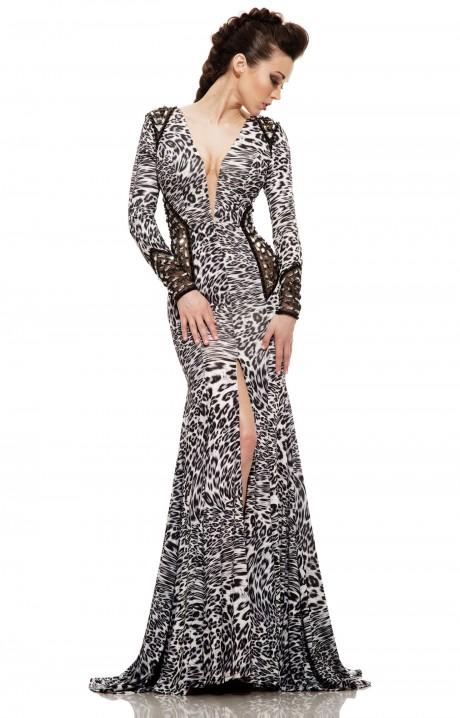 Animal print prom dresses formal prom wedding animal for Zebra print wedding dress