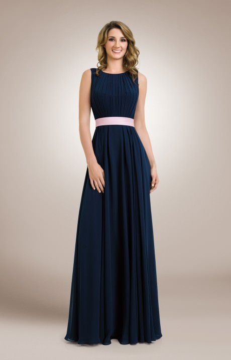 Plus size dresses in navy blue