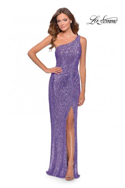 La Femme 27293   Long Fitted Dress