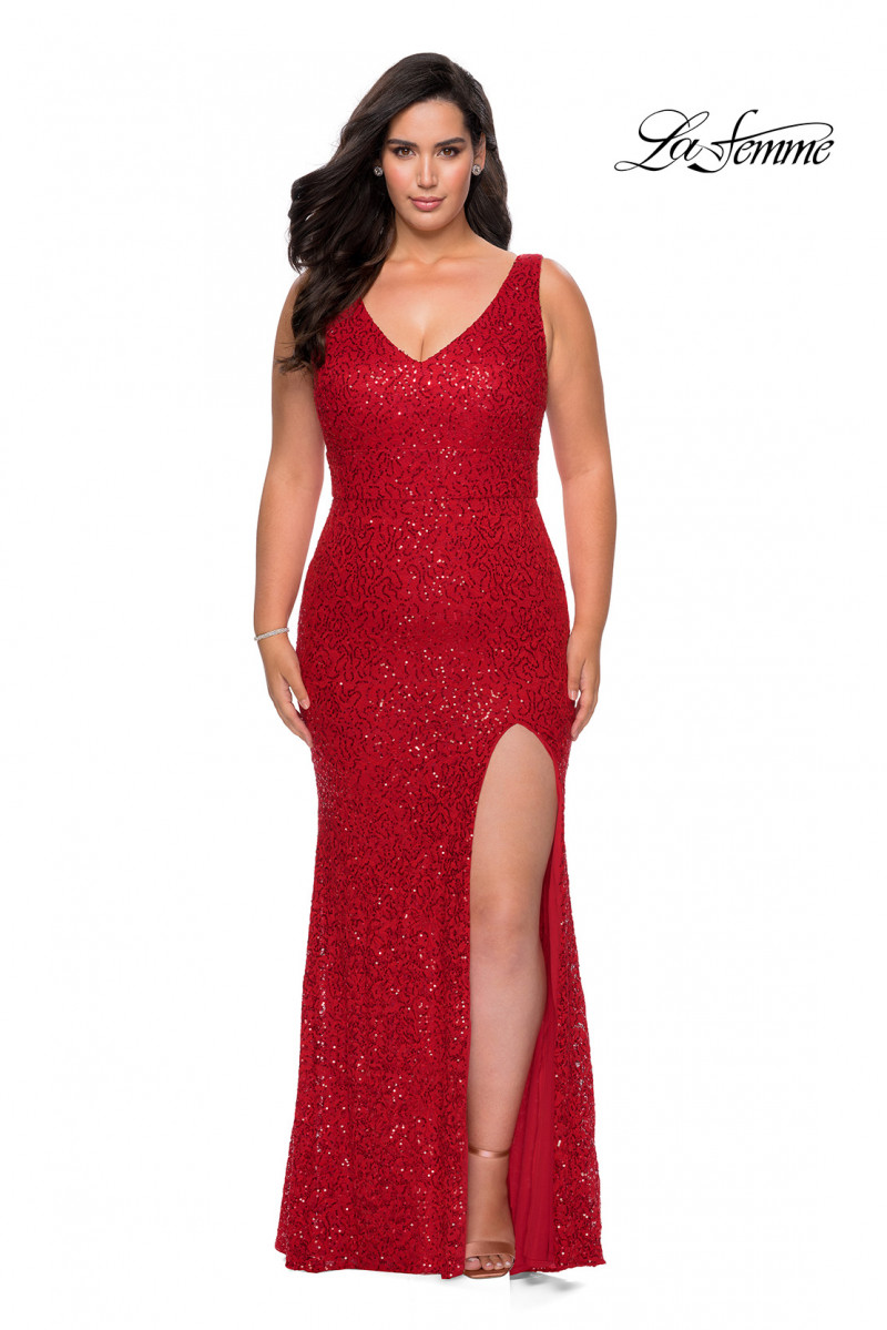 La Femme prom dresses 2021 - prom dresses Style #27190
