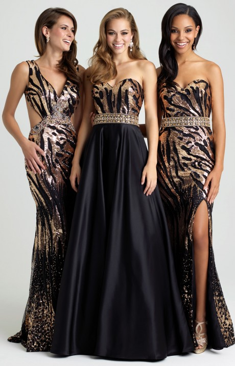 Animal Print Prom Dresses - Formal, Prom, Wedding Animal Print ...
