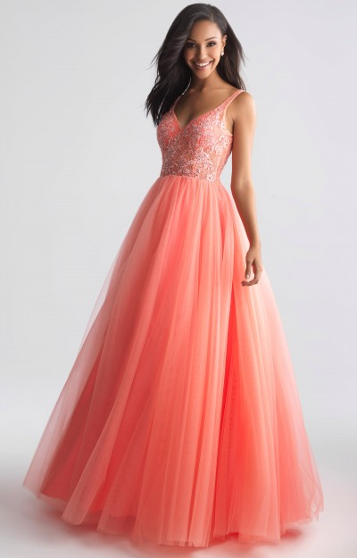 1a81fe677dc Coral Prom Dresses - Formal