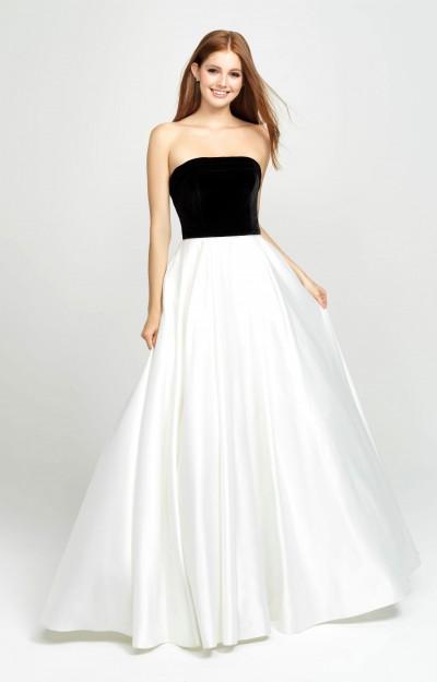 aaf8e92fd52 Black White Prom Dresses - Formal