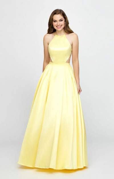 19f43a7908 Yellow Prom Dresses - Formal