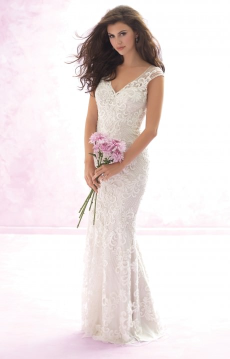 Madison james bridal mj109 wedding dress for Cheap allure wedding dresses
