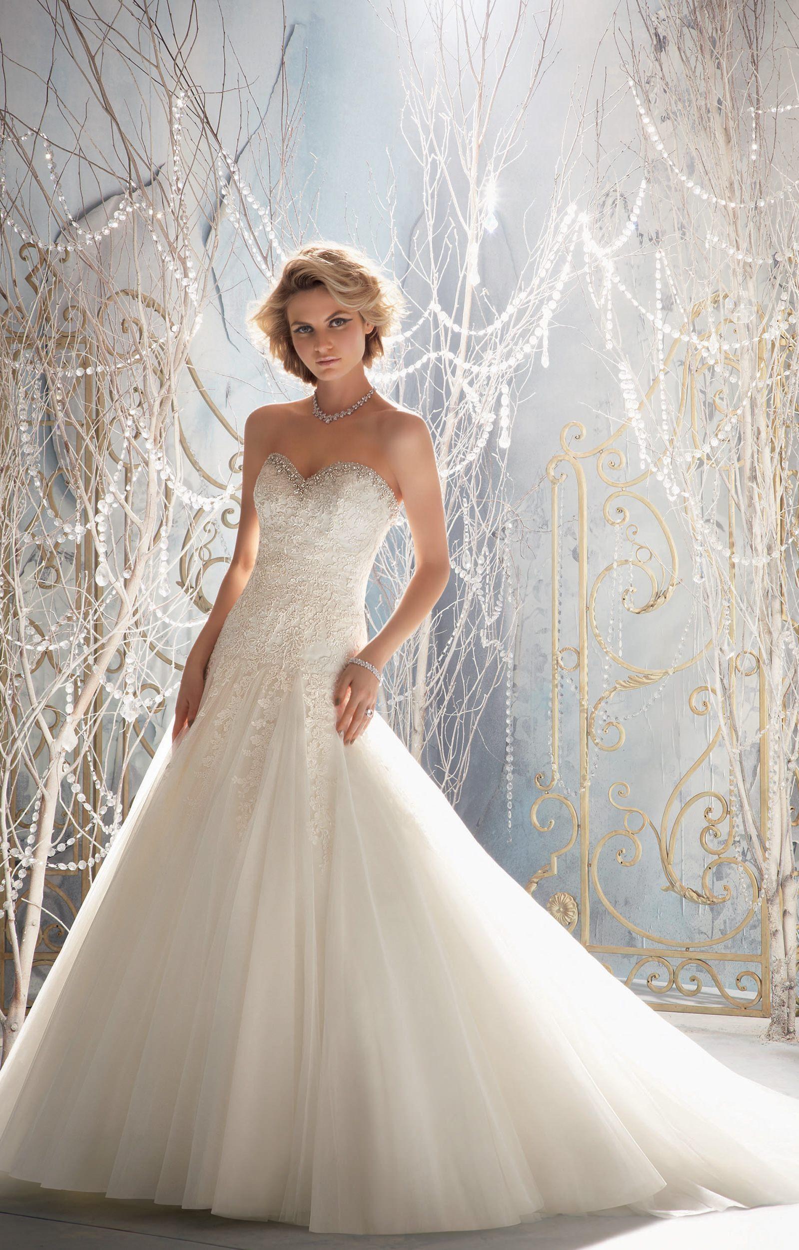 Mori lee bridal 1964 wedding dress