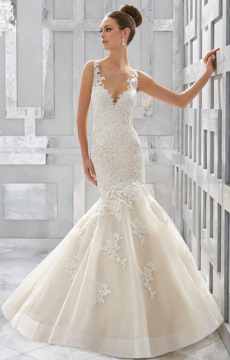 Mori Lee Bridal 5571 Wedding Dress - Part of the Mori Lee Blu collection