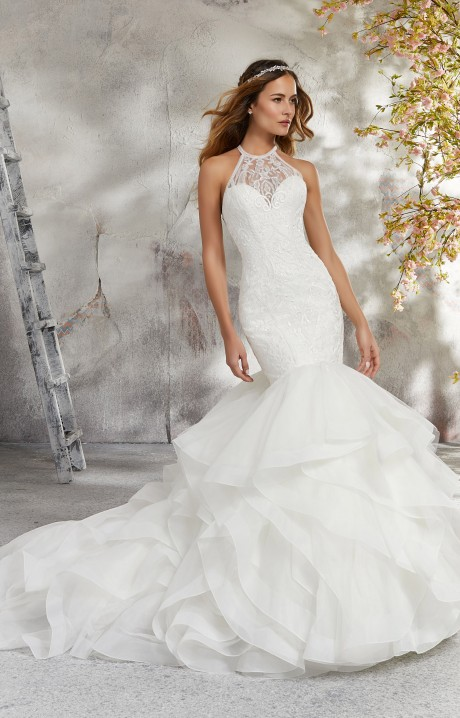 6614097ec Mori Lee Bridal 5687 Wedding Dress - Part of the Blu collection