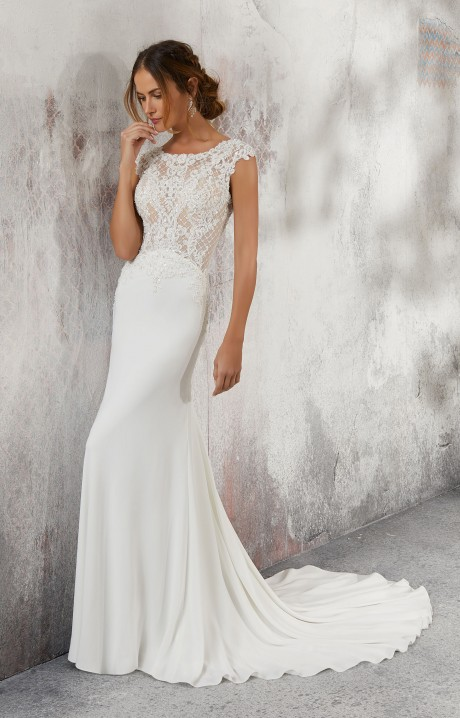 Mori Lee Bridal 5688 Wedding Dress - Part of the Blu collection