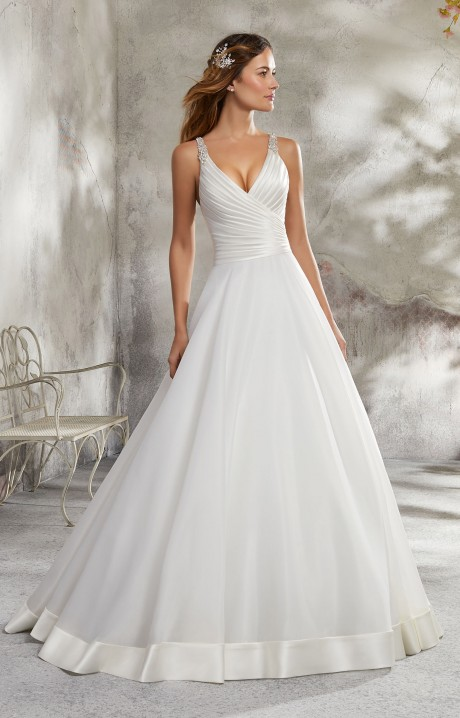5ea3524246 Mori Lee Bridal 5690 Wedding Dress - Part of the Blu collection