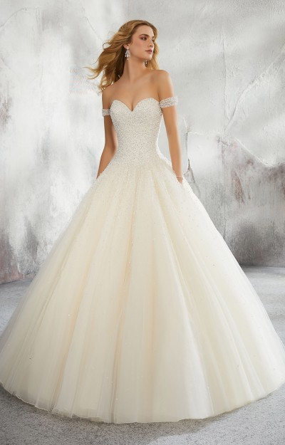 Ball Gown Wedding Dresses   With Sleeves, Plus Size, More