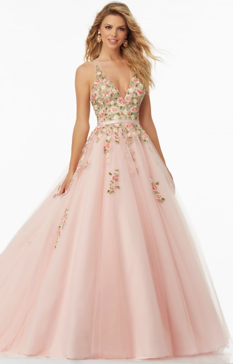 Mori Lee Prom 99032 Formal Dress Gown