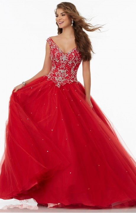 Mori Lee Prom 99078 Formal Dress Gown