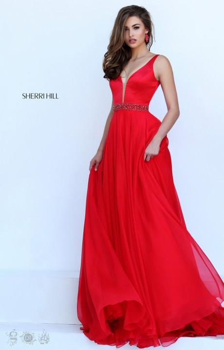 Sherri hill 50264 formal dress gown for Wedding dresses anderson sc