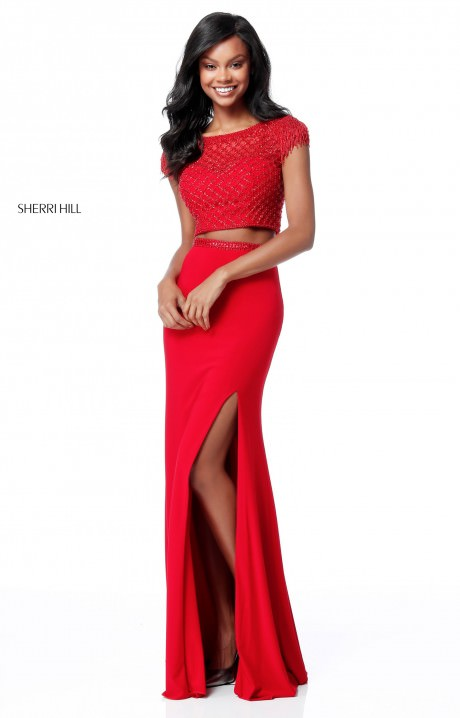 Sherri Hill 51691 Formal Dress Gown