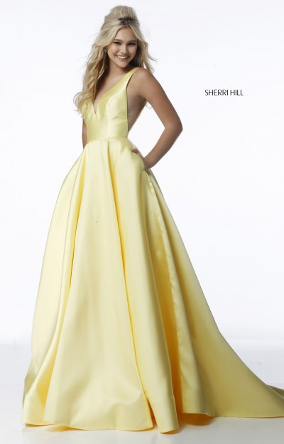 Yellow Prom Dresses - Formal, Prom, Wedding Yellow Prom