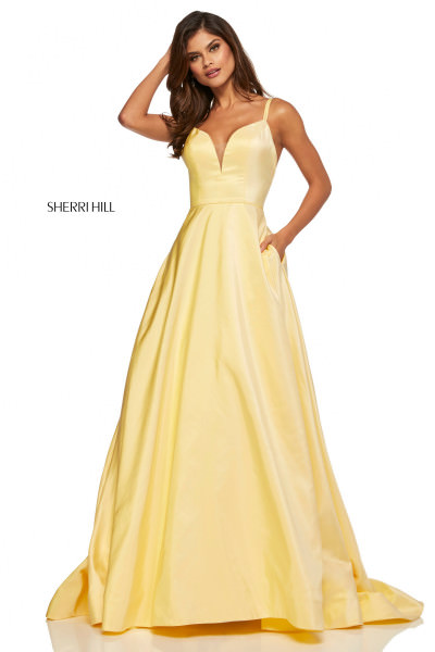 4ad96ac09d54 Yellow Prom Dresses - Formal