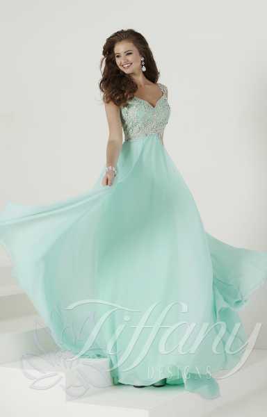 Tiffany Designs 16136 Formal Dress Gown