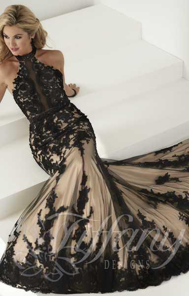 ac20820fc7ad Tiffany Designs 16150 Formal Dress Gown