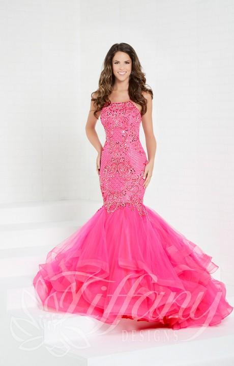 2389051ceda Tiffany Designs 16280 Formal Dress Gown