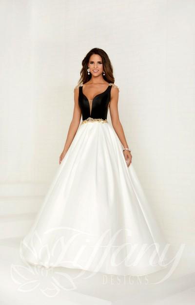 Black White Prom Dresses Formal Prom Wedding Black White Prom