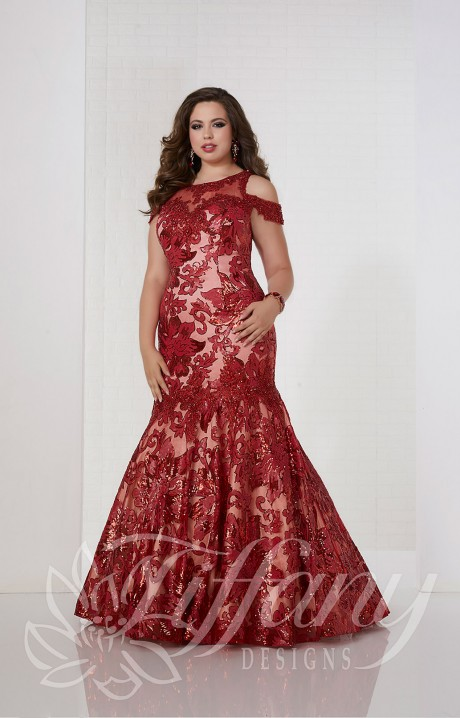 e70ed1fc66ac Tiffany Designs 16312 Formal Dress Gown